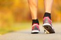 Running Shoes Closeup Royalty Free Stock Photography - 26517647