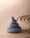 Zen Meditation Garden Purity And Simplicity Royalty Free Stock Images - 26528599