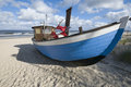 Boat On The Beach Stock Images - 26529224
