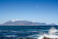 View Of Cape Town From Robben Island Royalty Free Stock Photos - 26540008