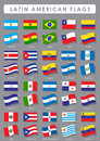 Latin American Flags Stock Images - 26541514