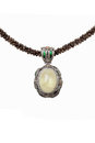 Crystal Necklace Royalty Free Stock Photography - 26545407