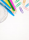 School Supplies Royalty Free Stock Images - 26546869