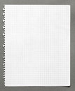 Squared Sheet Of Paper Stock Photos - 26548543