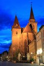 St. Johannis Church In Ansbach Stock Images - 26551014