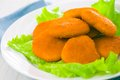 Fried Nuggets Royalty Free Stock Image - 26554296