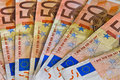 Bunch Of Banknotes Of 50 Euro Stock Images - 26556634
