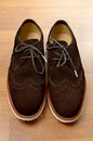 Suede Shoe Royalty Free Stock Images - 26558049