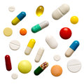 Many Colorful Pills Stock Photos - 26560103