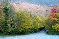 Autumn Color Change In Stowe, Vermont Royalty Free Stock Photography - 26566427