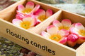 Floating Candles Royalty Free Stock Image - 26568426