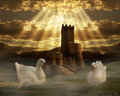 Fantasy Castle Royalty Free Stock Images - 26568909