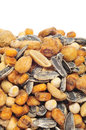 Mixed Roasted Nuts Royalty Free Stock Images - 26574789