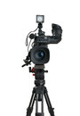 Professional Digital Video Camera. Royalty Free Stock Images - 26577999