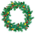 Christmas Wreath Royalty Free Stock Images - 26586879