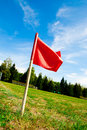 Red Flag Stock Photo - 26587880