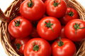 Tomatoes In Basket Stock Photo - 26598280
