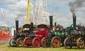 Traction Engines At Pickering Annual Rally Stock Photos - 26598353