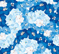 Seamless Texture With Flowers Stock Photo - 26598550