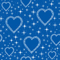 Love Pattern Background Stock Photo - 26598720