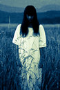 The Ghost Of A Woman Royalty Free Stock Photos - 26598998