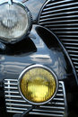 Antique Car Headlights Royalty Free Stock Photography - 2663067