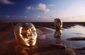 Masks On Water Royalty Free Stock Photo - 2668175