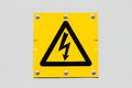 Sign Of Danger High Voltage Symbol Stock Photography - 26612422
