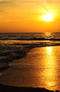 The Beach And Sunset Stock Photo - 26617760