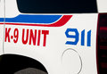 Decals On K-9 Unit Vehicle Stock Images - 26635944