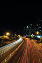 City Road At Night Stock Photography - 26642222