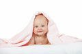 Boy With Towel Stock Photography - 26647452