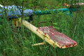 Old Neglected Playground Equipment. Royalty Free Stock Image - 26660646