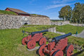 Stone Walls At Fredriksten Fortress Royalty Free Stock Image - 26667676
