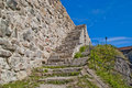 Stone Walls At Fredriksten Fortress In Halden Royalty Free Stock Photos - 26667688