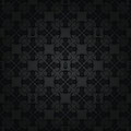 Seamless Repetitive Black Floral Pattern Royalty Free Stock Photos - 26672678