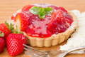 Strawberry Tart Royalty Free Stock Photography - 26681527