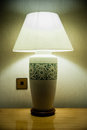 Sarawak Craft Table Lamp Royalty Free Stock Photography - 26688867