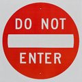 Do Not Enter Sign Royalty Free Stock Image - 26691926