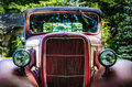 Old Red Truck Royalty Free Stock Photos - 26695798