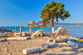 Ancient Ruins On Kos Royalty Free Stock Images - 26696319