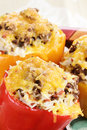Stuffed Bell Peppers Royalty Free Stock Photos - 26700078