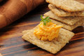 Cheese And Crackers Stock Photography - 26706072