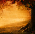 Autumn Design - Forest In Fall Royalty Free Stock Images - 26710529