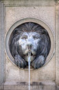 Lion Head Water Fountain Royalty Free Stock Images - 26711219