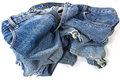 Old Used Jeans Trousers Stock Photo - 26714000