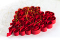 Curled Red Heart Royalty Free Stock Image - 26717366
