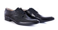 Black Leather Shoes Royalty Free Stock Images - 26728219