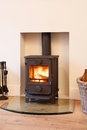 Wood Burning Stove Stock Photography - 26728752