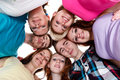Group Of Smiling Friends With Their Heads Together Royalty Free Stock Photos - 26732628